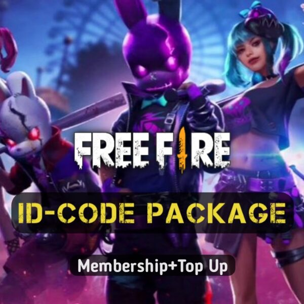 free fire id code package