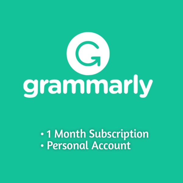grammarly 1 month personal